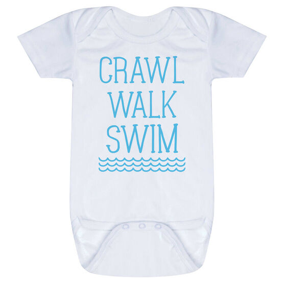 Swimming Baby One-Piece - Crawl Walk Swim