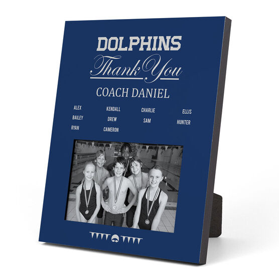 Swimming Photo Frame - Thank You Coach Roster
