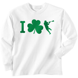 Guys Lacrosse Long Sleeve T-Shirt - I Shamrock Guys Lacrosse