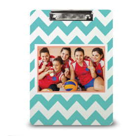 Volleyball Custom Clipboard Volleyball Your Photo Pattern