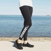 Girls Lacrosse Leggings - Lacrosse