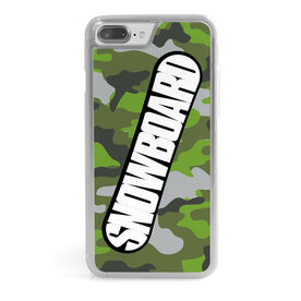 Snowboarding iPhone® Case - Top Snowboarding