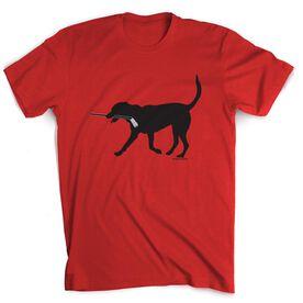 Hockey Tshirt Short Sleeve Howe the Hockey Dog