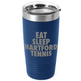 Tennis 20 oz. Double Insulated Tumbler - Personalized Eat Sleep Tennis