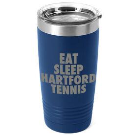 Tennis 20 oz. Double Insulated Tumbler - Personalized Eat Sleep Tennis