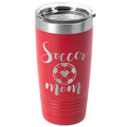 Soccer 20oz. Double Insulated Tumbler - Soccer Mom