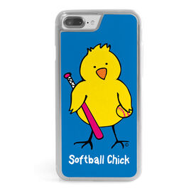 Softball iPhone® Case - Softball Chick