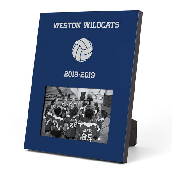 Volleyball Photo Frame - Team