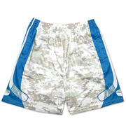 Digital Camo Hockey Shorts