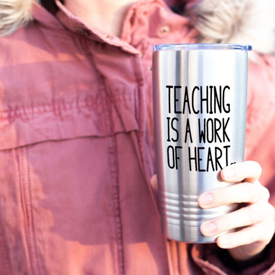 20 oz. Double Insulated Tumbler - Teaching Work of Heart