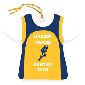 Track & Field Ornament - Team Singlet