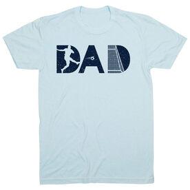 Soccer T-Shirt Short Sleeve - Soccer Dad Silhouette