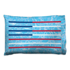 Swimming Pillowcase - American Flag