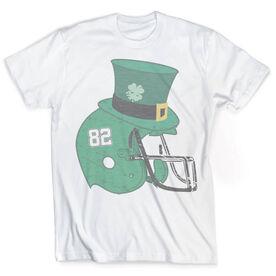 Vintage Football T-Shirt - Lucky Helmet