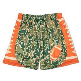 Hunter Camo Football Shorts