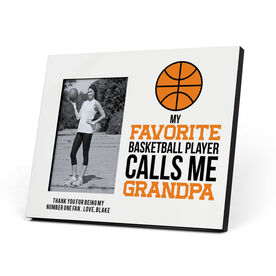 Basketball Photo Frame - Grandpa