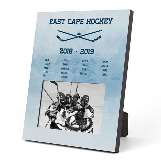 Hockey Photo Frame - Team Roster
