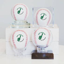 HAPPY FATHERS DAY TROPHY Custom Baseball
