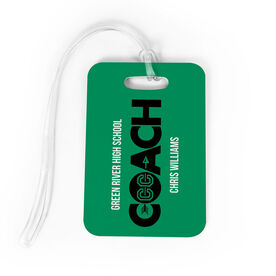 Cross Country Bag/Luggage Tag - Personalized Coach