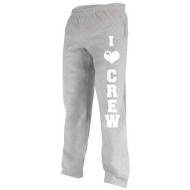 I Love Crew Fleece Sweatpants
