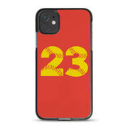 Softball iPhone® Case - Number Stitches