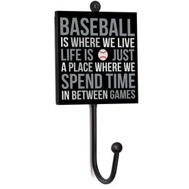 Baseball Medal Hook - Baseball Is Where We Live