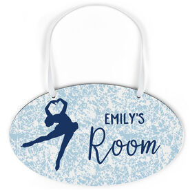 Figure Skating Oval Sign - Personalized Figure Skater