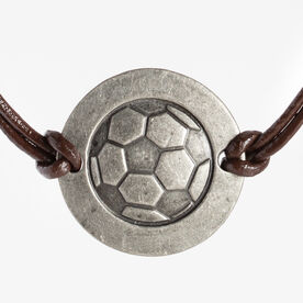 Soccer Token Cord Necklace
