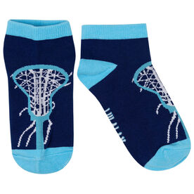 Girls Lacrosse Ankle Socks - Lax is Life