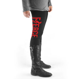 Field Hockey High Print Leggings Fierce