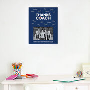 Swimming Photo Frame - Coach (Autograph)