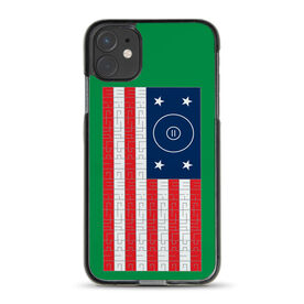 Wrestling iPhone® Case - American Flag