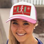 Running Trucker Hat - Ugly Sweater Female