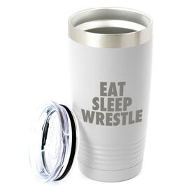 Wrestling 20 oz. Double Insulated Tumbler - Eat Sleep Wrestle