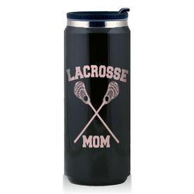 Stainless Steel Travel Mug Lacrosse Mom Guys Sticks