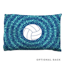 Volleyball Pillowcase - Bump Set Spike Repeat