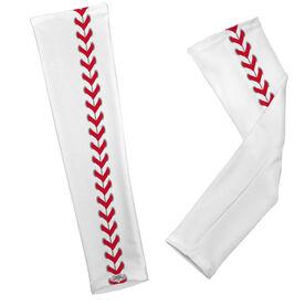 Baseball Printed Arm Sleeves Baseball Stitches