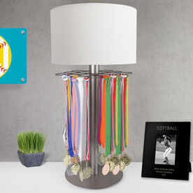 Softball Tabletop Medal Display Lamp