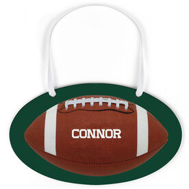 Football Oval Sign - Personalized Football