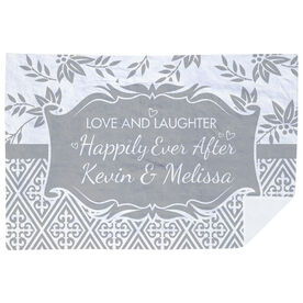 Personalized Premium Blanket - Happily Ever After