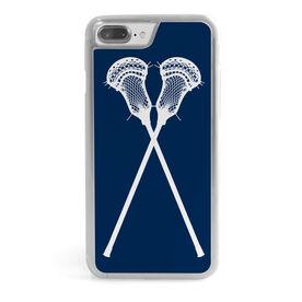 Guys Lacrosse iPhone® Case - Lacrosse Crossed Sticks