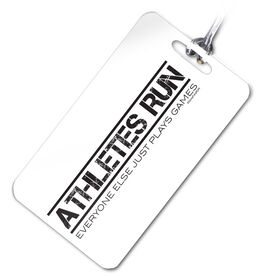Athletes Run Personalized Sport Bag/Luggage Tag