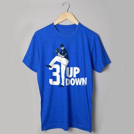 Baseball Tshirt Short Sleeve 3 Up 3 Down