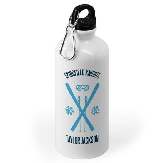 Skiing 20 oz. Stainless Steel Water Bottle - Ski Team