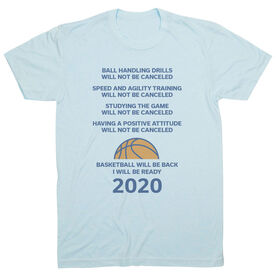 Basketball Short Sleeve T-Shirt - Basketball Will Be Back 2020 ($5 Donated to the American Red Cross)