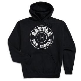 Wrestling Hooded Sweatshirt - Battle In Circle
