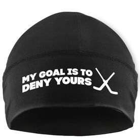 Beanie Performance Hat - My Goal is to Deny Yours with Sticks
