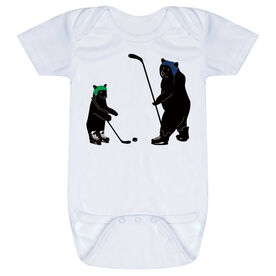 Hockey Baby One-Piece - Bears