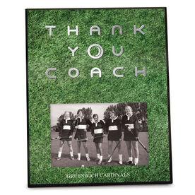 Field Hockey Photo Frame Thank You Coach
