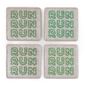 Running Stone Coaster Set of 4 - Run Lights